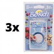 Kit 3x Fermento Bio Rich Com 9 Envelopes