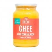 Manteiga Ghee Benni Com Sal Rosa Do Himalaia 500g - Benni