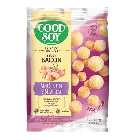 Snack Light de Soja Bacon 25g - Good Soy