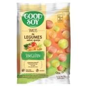 Snack Light De Soja Legumes Ao Queijo 25g - Good Soy