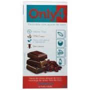 Tablete De Chocolate 70% Cacau Açúcar De Coco E Cranberry 80g Only4