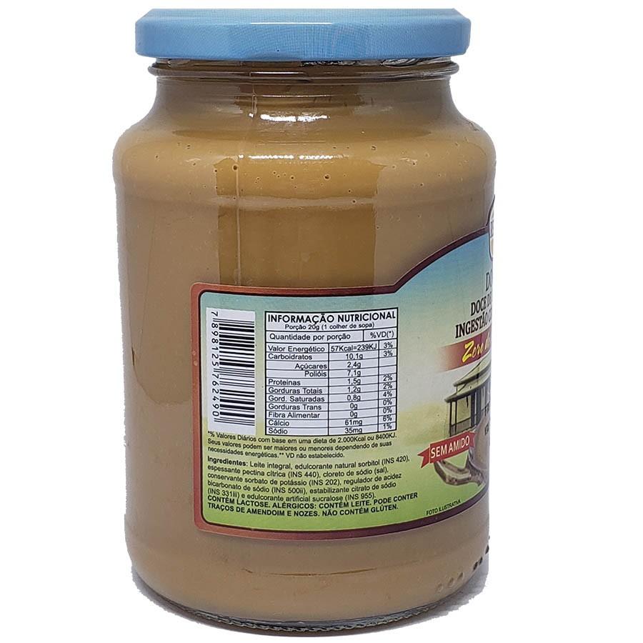 2x Doce De Leite Diet Zero Adição De Açúcar Reserva De Minas