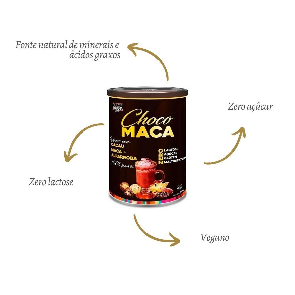 Achocolatado Choco Maca 200g - COLOR ANDINA