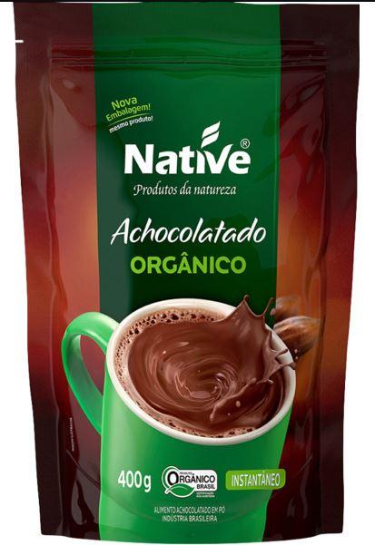 Achocolatado em pó Native orgânico 400gr refil