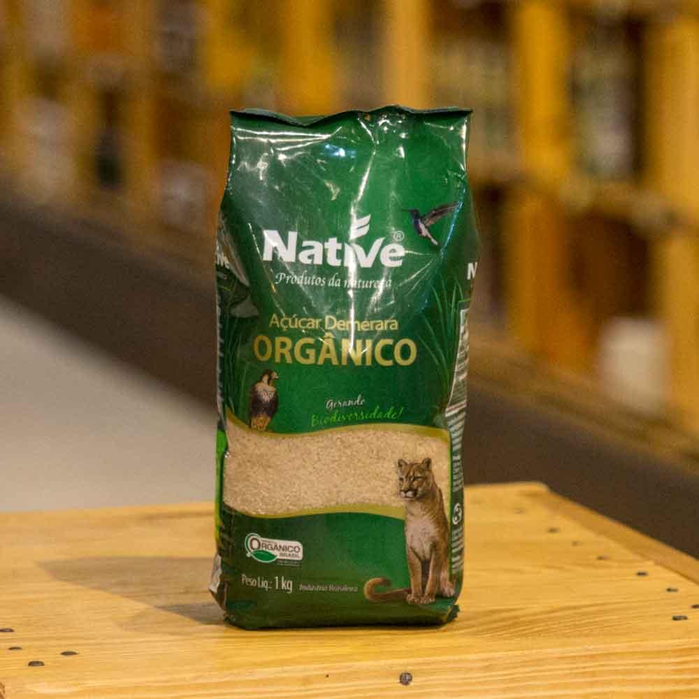 Açúcar orgânico demerara native 1kg