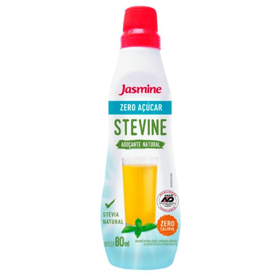 Adoçante Stevine Líquido 80ml - Jasmine