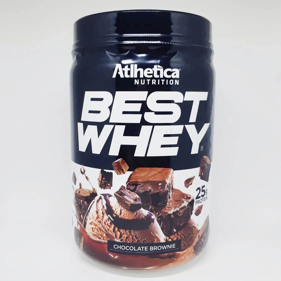 Best Whey Protein Chocolate Brownie 450g - Atlhetica Nutrition