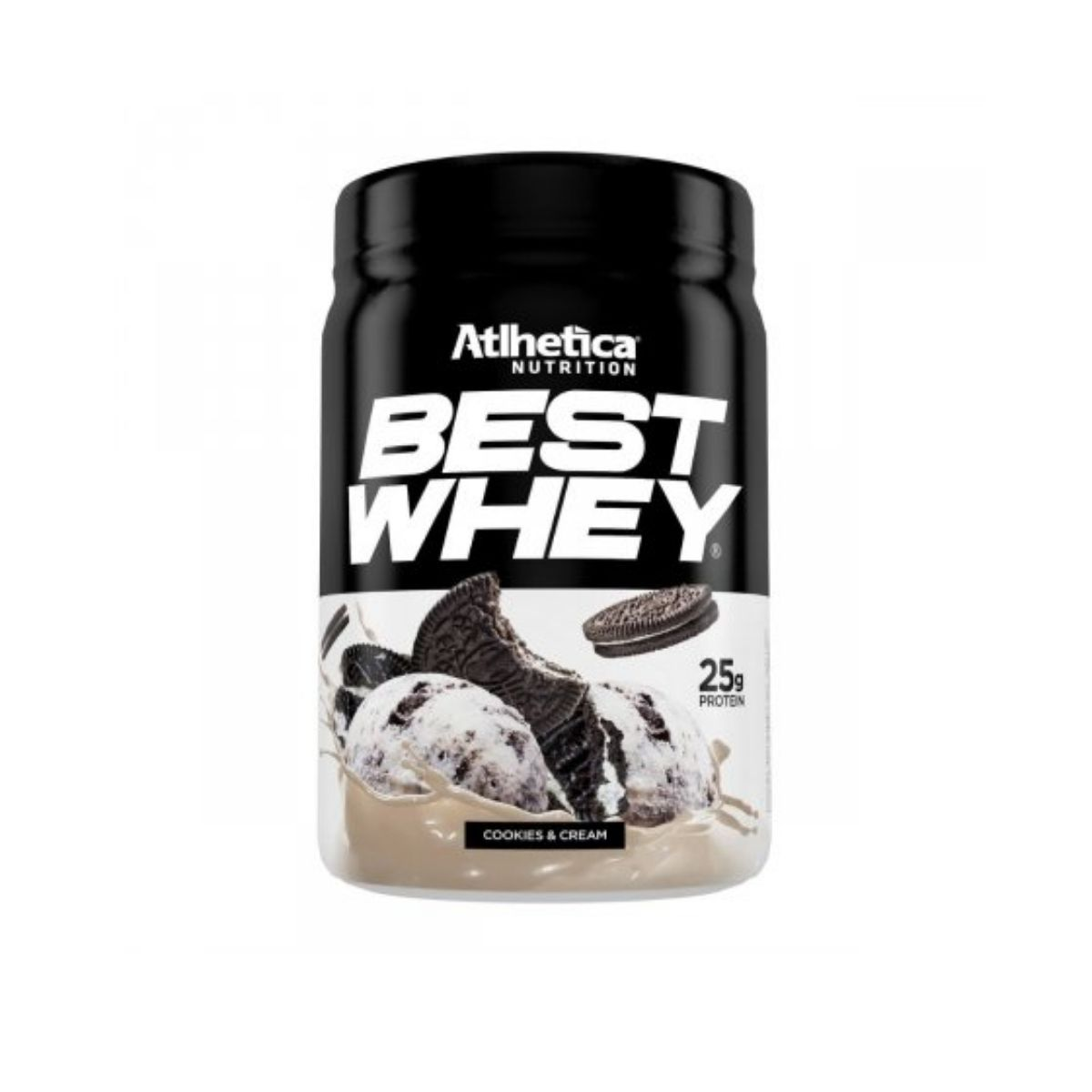 Best Whey Protein Cookies e Cream 450g - Atlhetica Nutrition