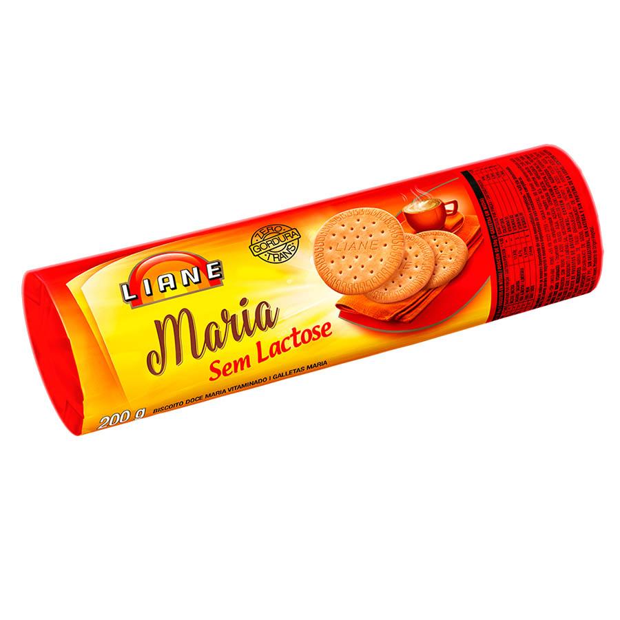 Biscoito Maria 200g Sem Lactose - Liane