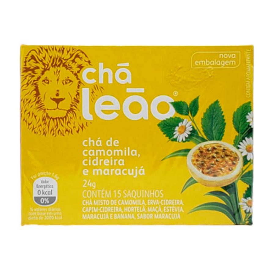 Chá Camomila, Cidreira E Maracujá 24g Com 15 Saquinhos - Chá Leão