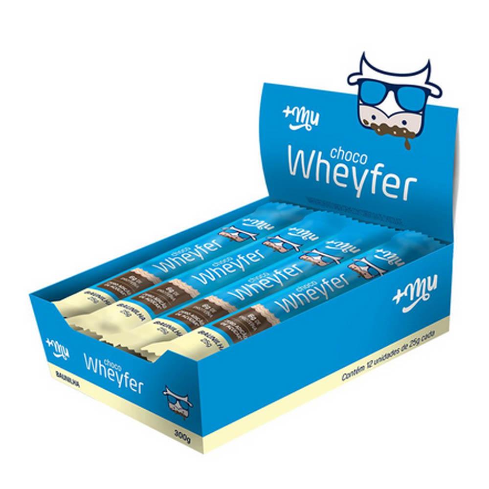 Choco Wheyfer Baunilha 12 unidades +MU
