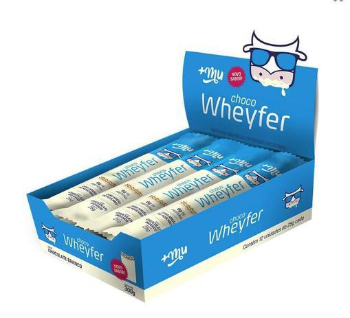 Choco wheyfer chocolate branco 25g +MU