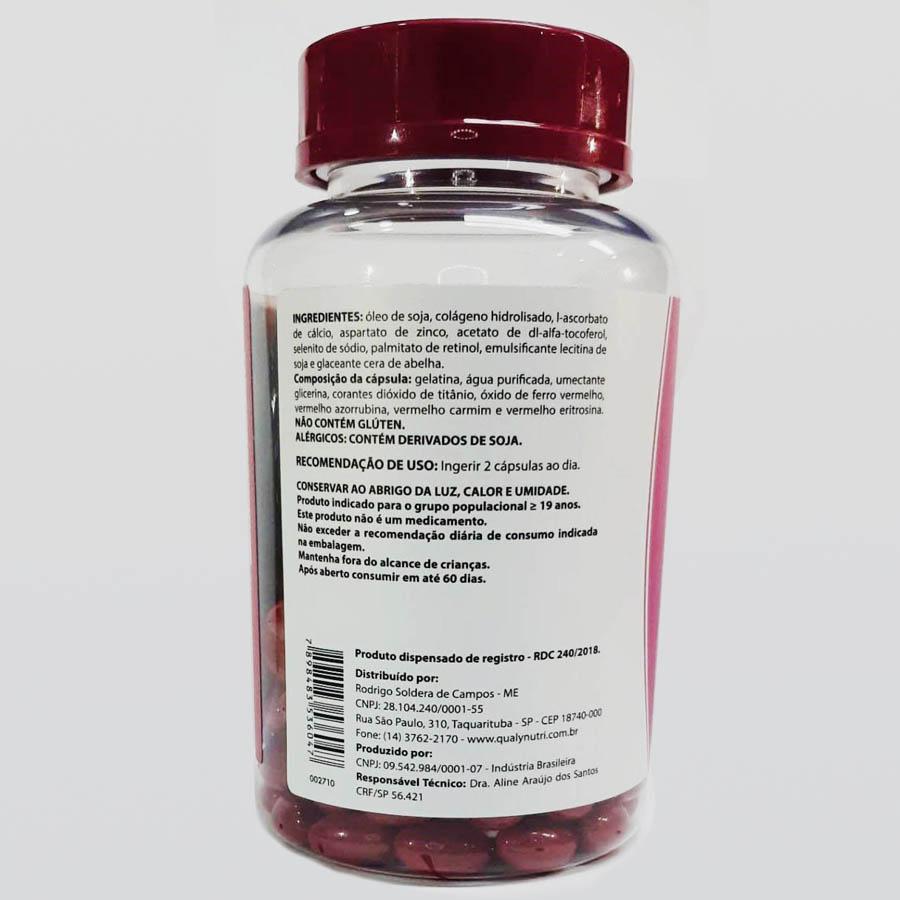 Colágeno Hidrolisado 120 cápsulas - Qualy Nutri