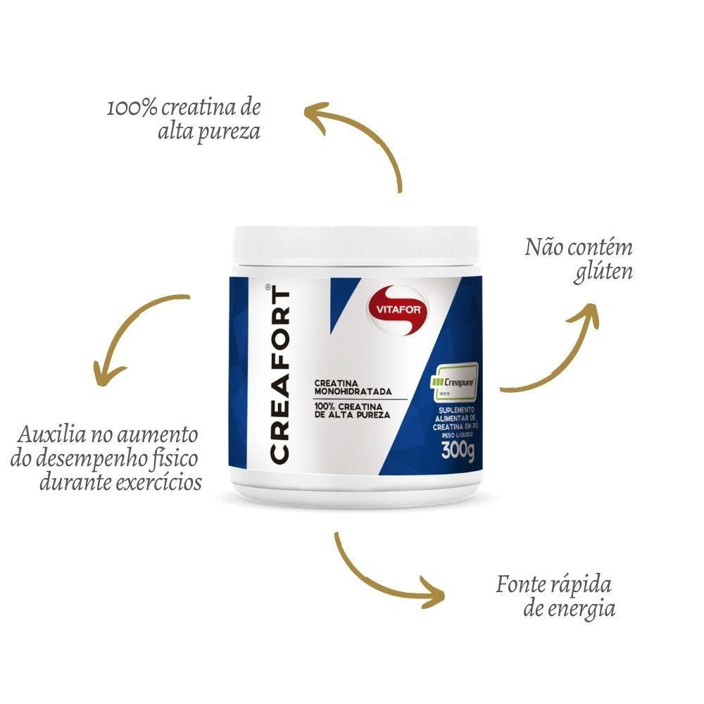 Creatina Monohidratada Creafort 300g VITAFOR