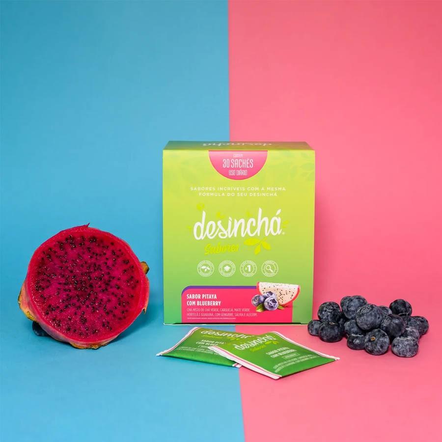 Desinchá Sabores Pitaya com Blueberry (30 Sachês)