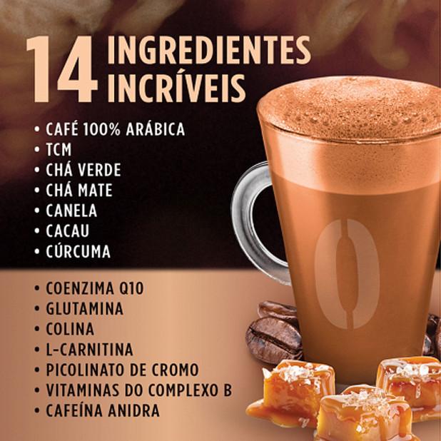 Desincofee caramelo com flor de sal 220g desinchá