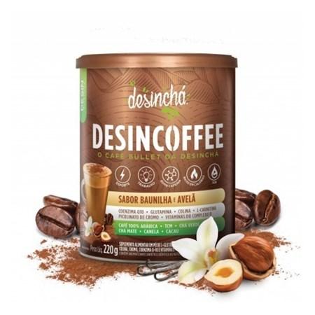 Desincoffee baunilha e avelã 220g desinchá