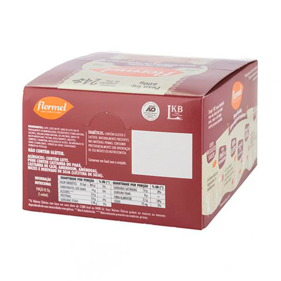 Display Doce De Leite 25g X 24 - Flormel
