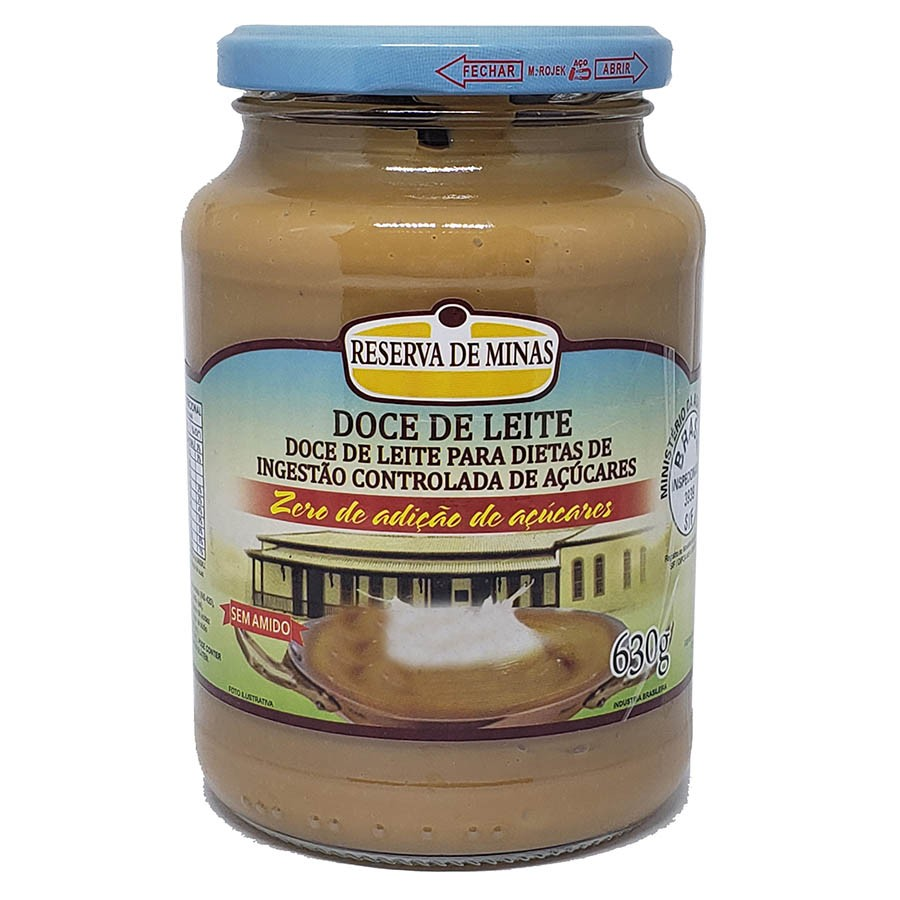 Doce De Leite Diet 650g - Reserva De Minas