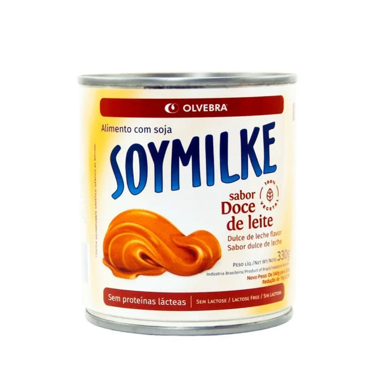 Doce de leite sg sl 330g - Rolvebra Soymilke