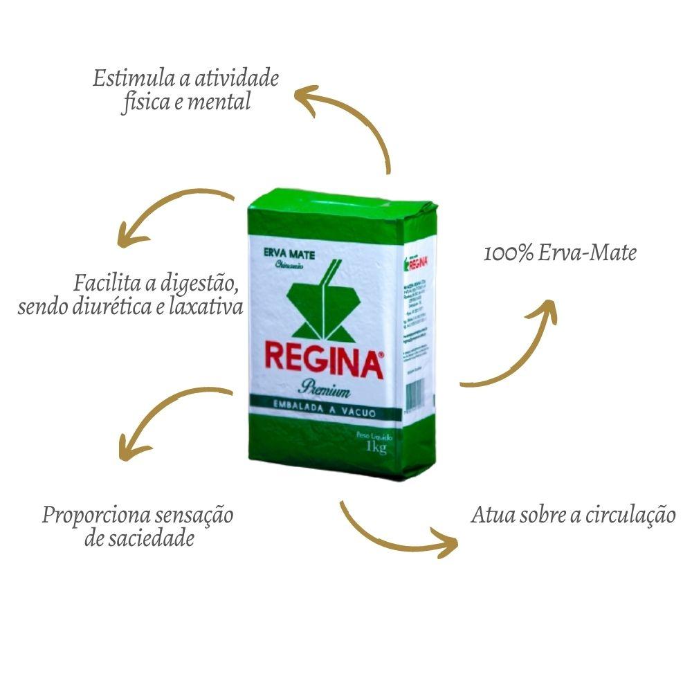 Erva Mate Chimarrão Premium 1KG - REGINA