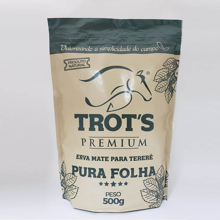 Erva Mate Para Tereré Pura Folha Premium 500g - Trot's