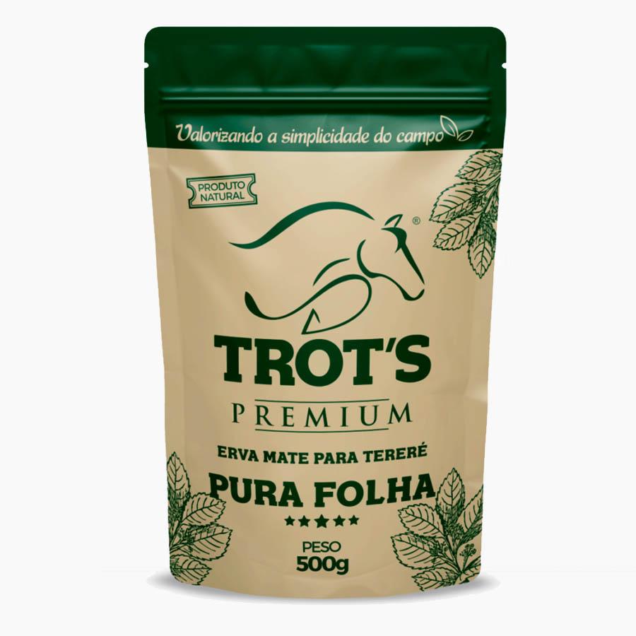 Erva Mate Para Tereré Pura Folha Premium 500g - Trots
