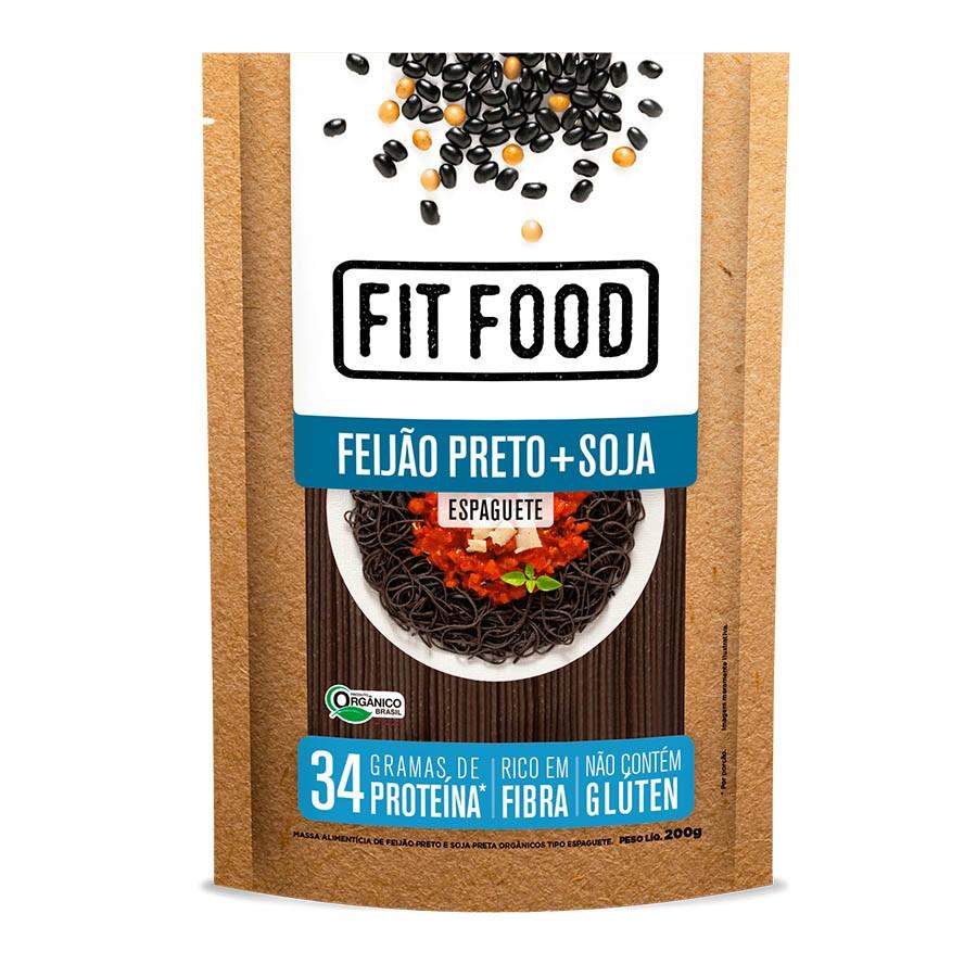 Espaguete De Feijão Preto E Soja 200g - Fit Food