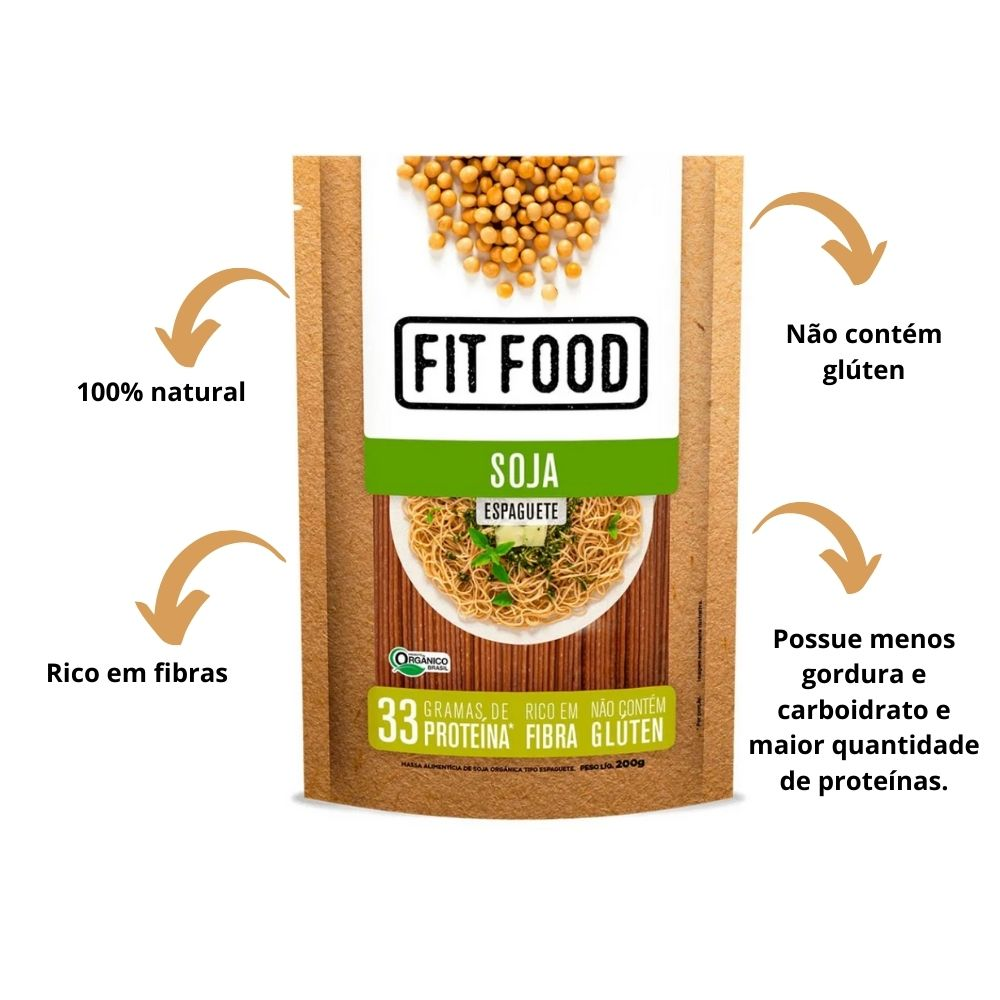 Espaguete De Soja 200g - Fit Food