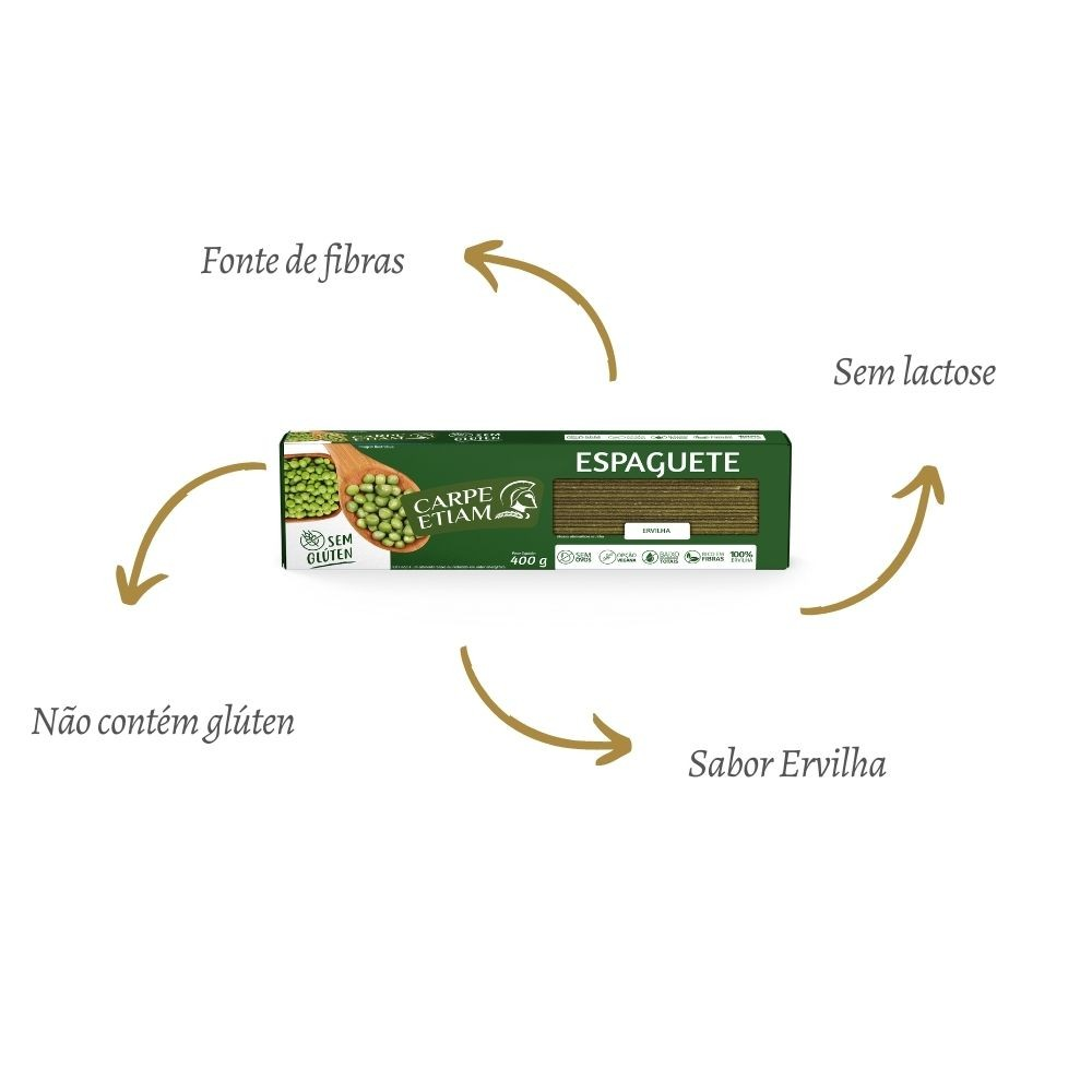 Espaguete Ervilha  400GR - CARPE ETIAM