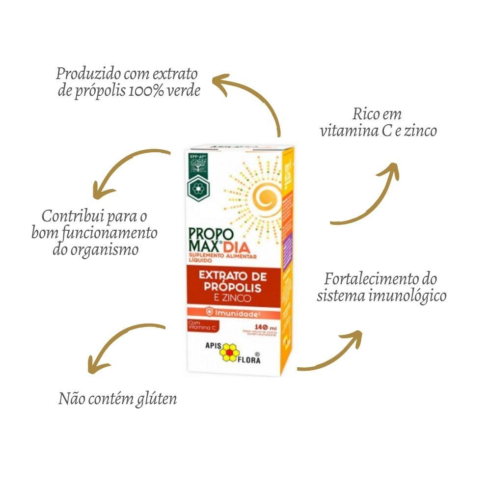 Extrato De Própolis Para Imunidade Propomax Dia + Noite Apis Flora
