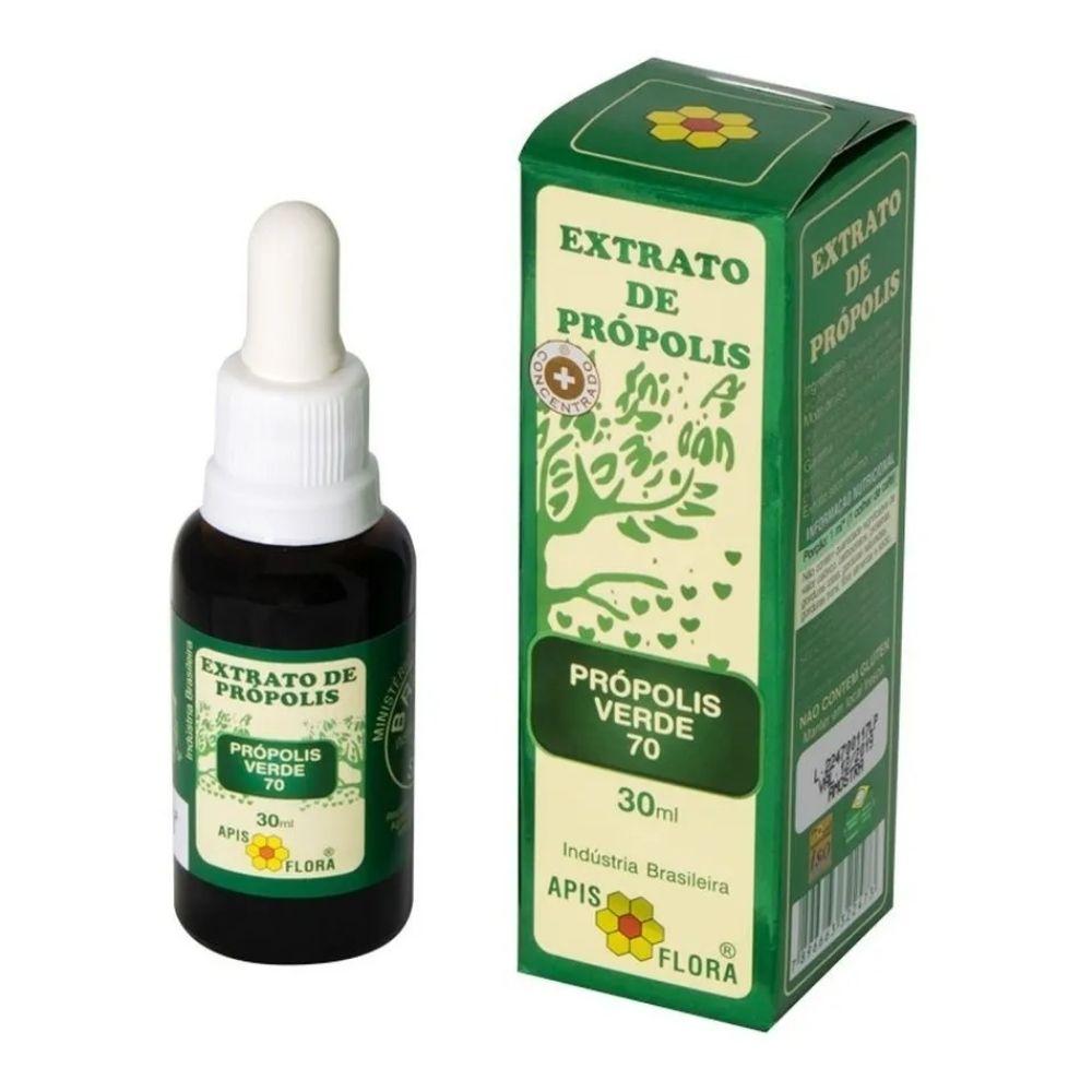 Extrato de Própolis Verde 70 30G - Apis Flora