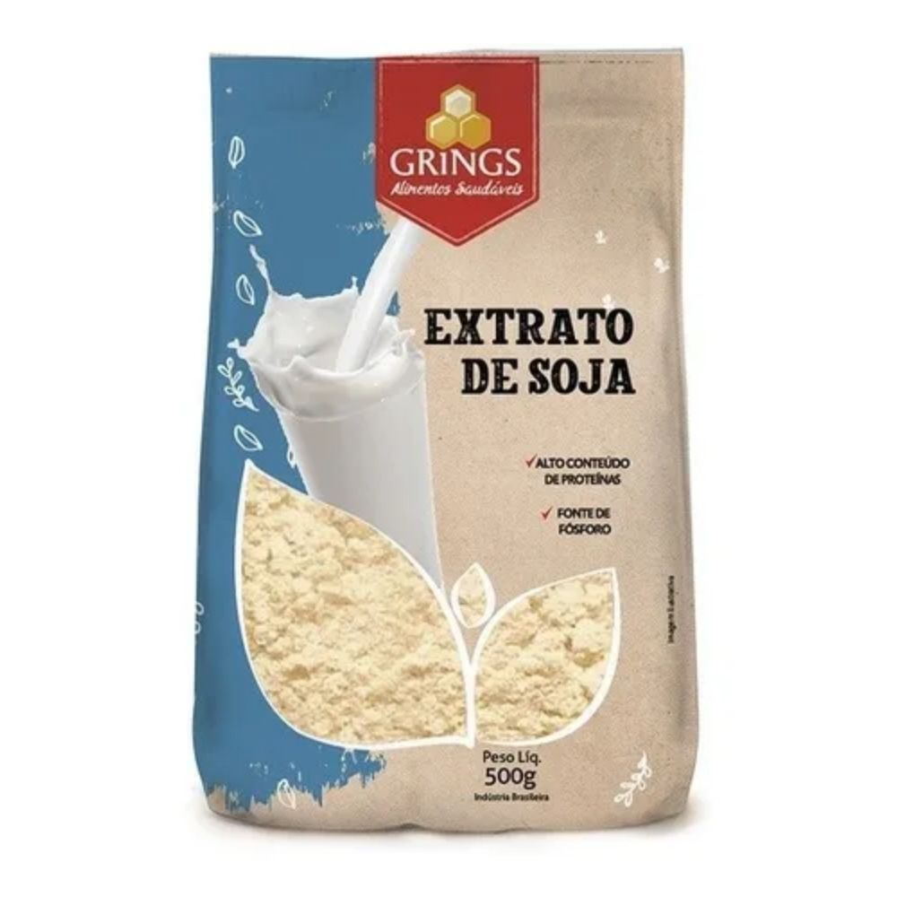 Extrato De Soja 500G - GRINGS
