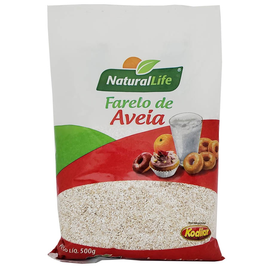 FARELO DE AVEIA 500g - Kodilar