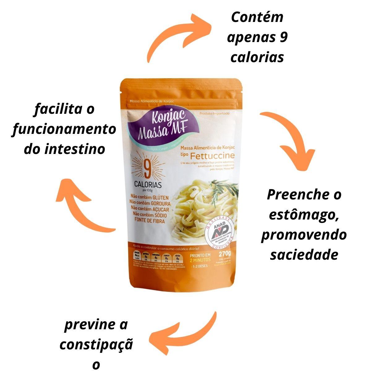 Fettuccine 279g konjac