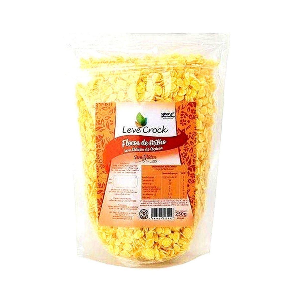 Flocos de milho 250g - leve crock