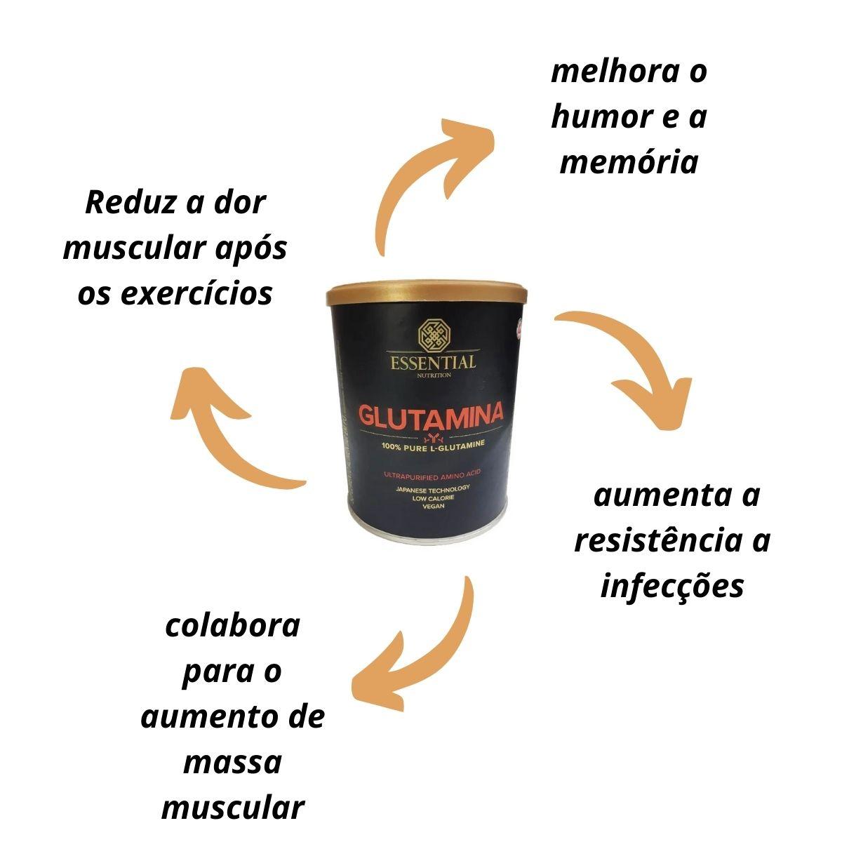 Glutamina 300g - Essential