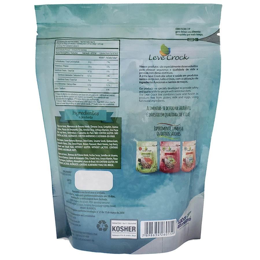 Granola Sem Glúten Biomassa E Gojiberry Leve Crock 200g - Leve Crock