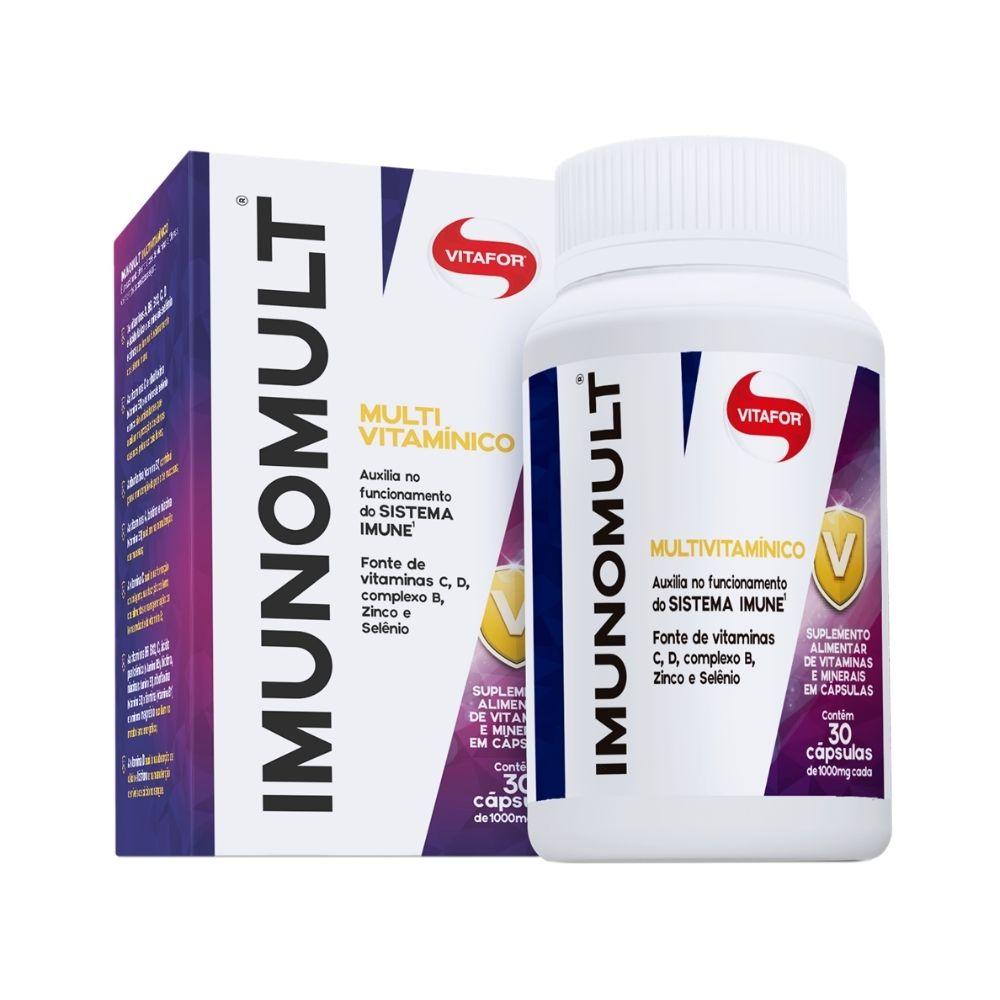 Imunomult (multivitamínico) 1000mg 30 Cápsulas -VITAFOR