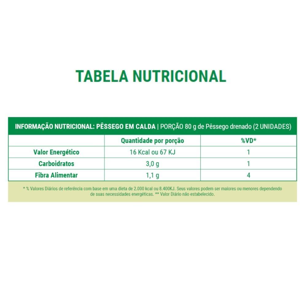 Kit 1 Doce de Leite Diet 210G - RESERVA DE MINAS e 1 Pêssego Em Calda Zero Açúcar Adoçado com Stevia 800g Stevia Natus