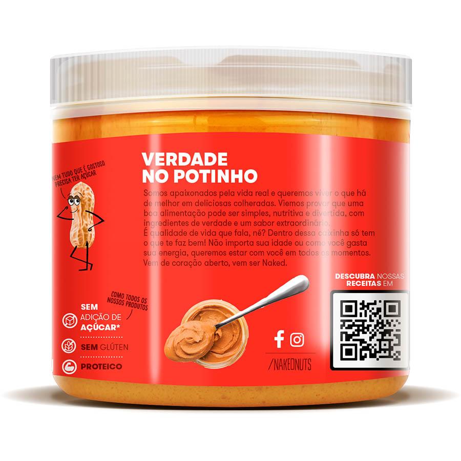kit 3 Pasta De Amendoim Fit Naked Nuts -Cookies De Chocolate