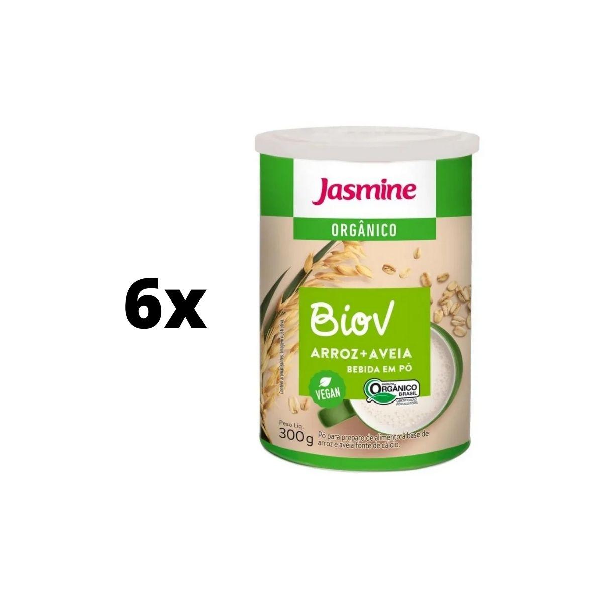Kit 6 latas Bebida De Arroz E Aveia Nutritivo Fonte De Cálcio - Biov