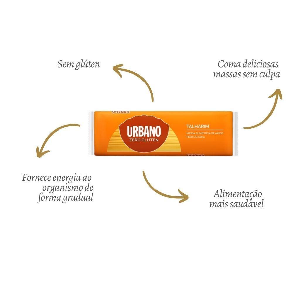 Macarrão de Arroz Zero Glúten Talharim - URBANO