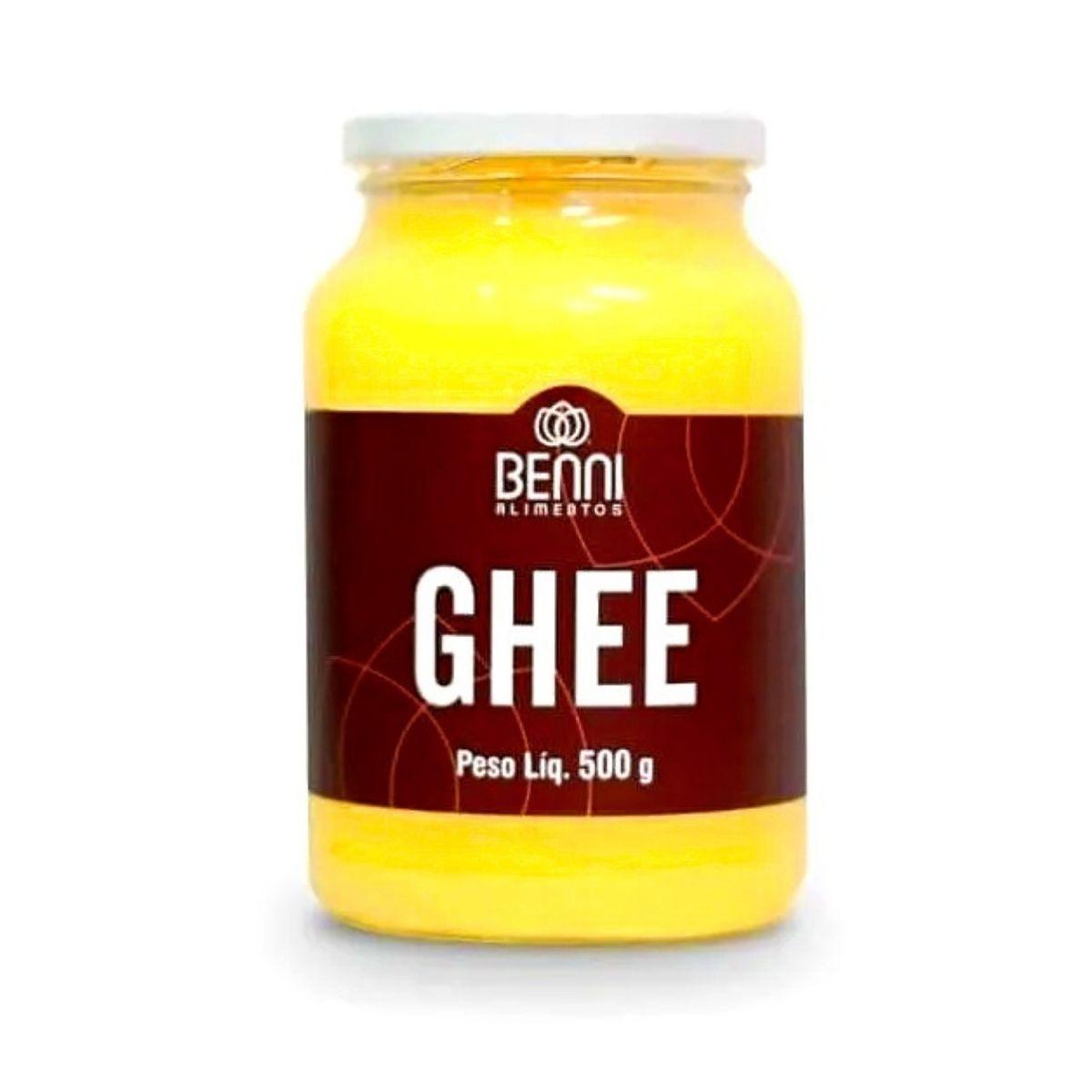 Manteiga Ghee Benni 500g - Benni