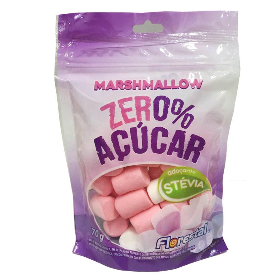 Marshmallow Zero Açúcar 70g - Florestal