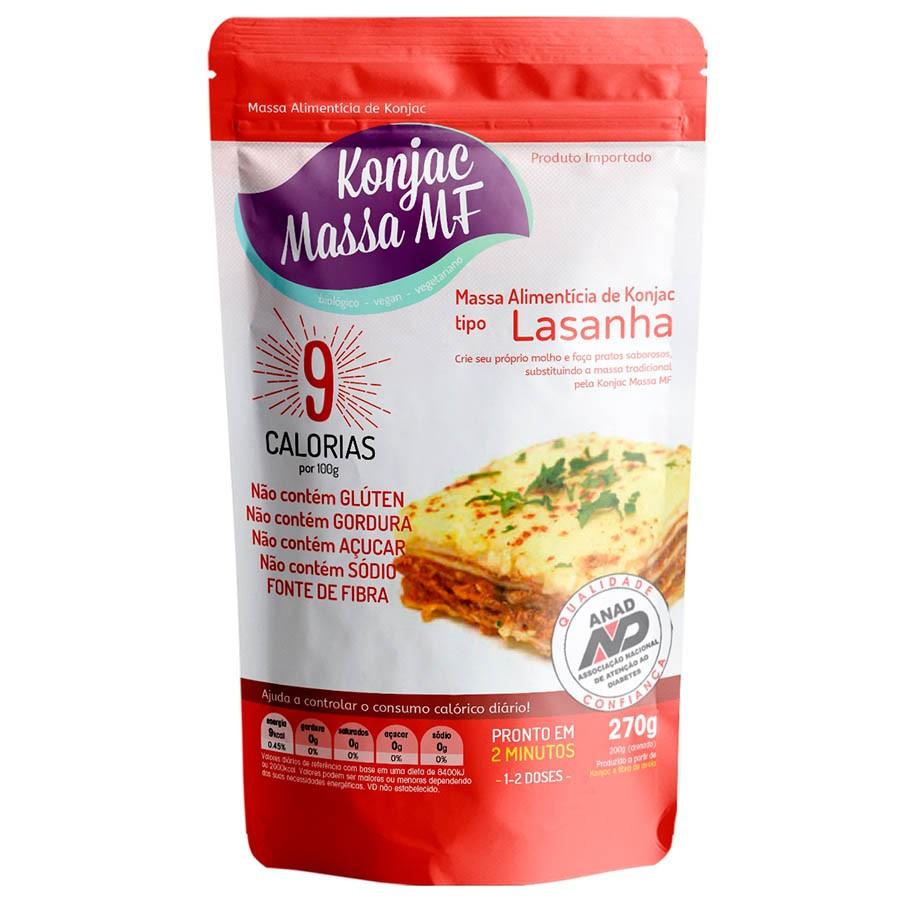 Massa Alimentícia Lasanha 270g - Konjac