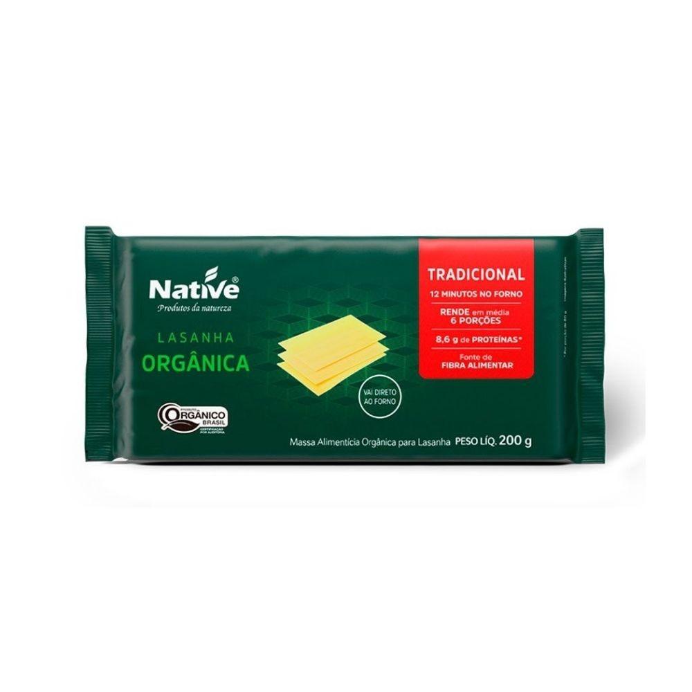 Massa Lasanha Orgânica 200G - NATIVE