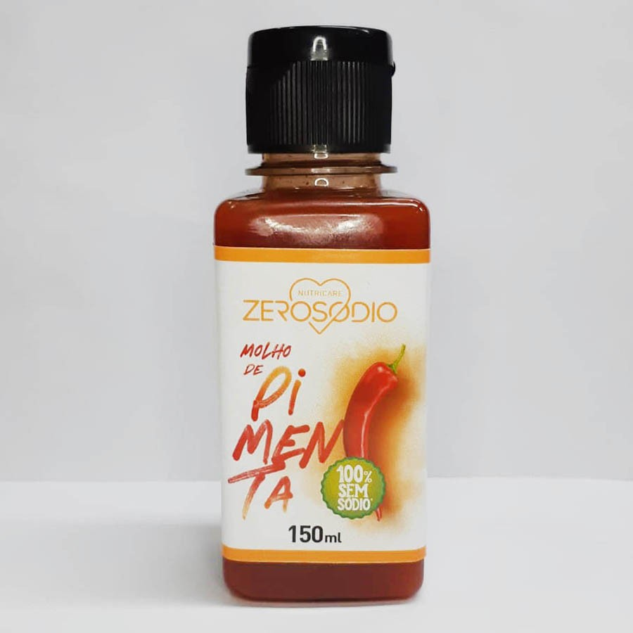 Molho De Pimenta 150ml - ZeroSodio Nutricare