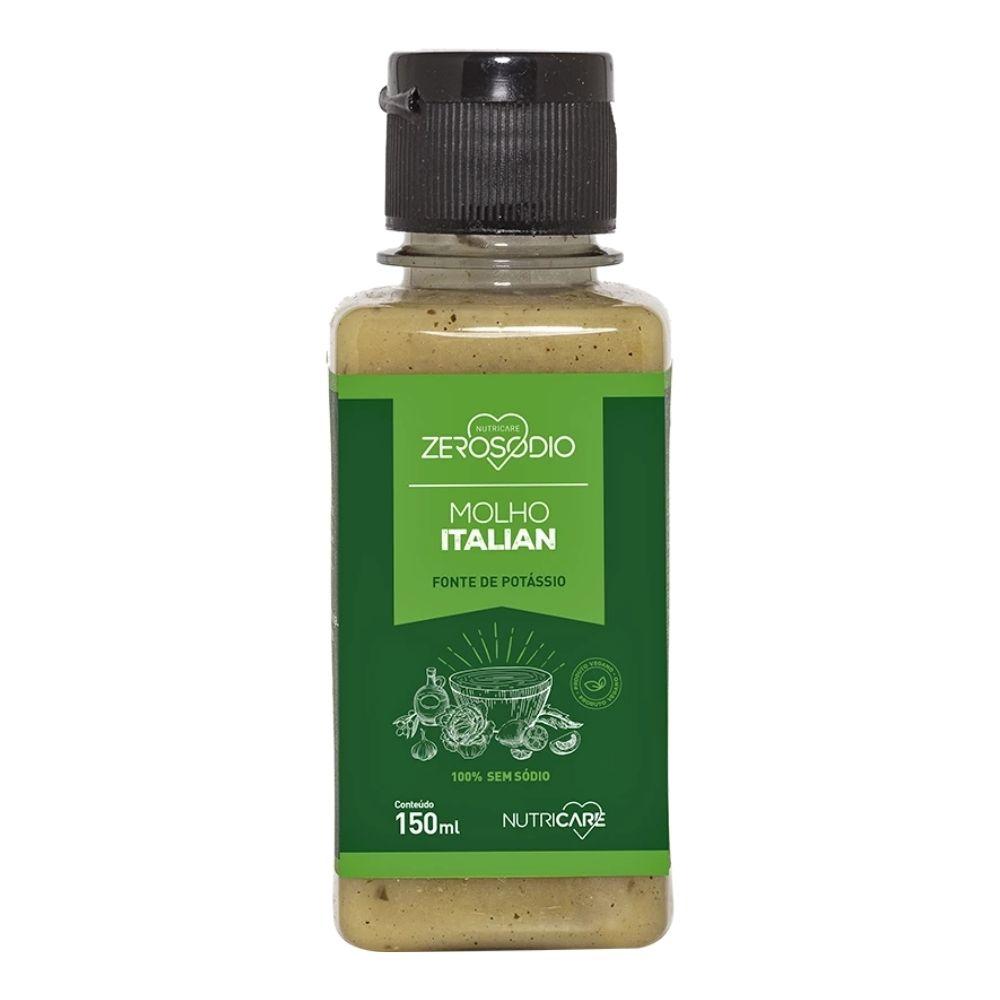 Molho Italian 150ML - ZeroSodio Nutricare