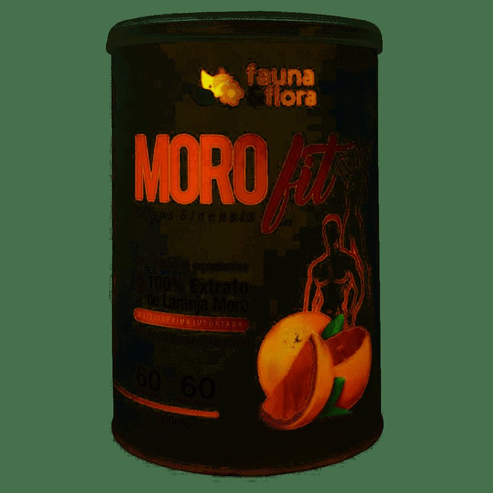 Morosil - Morofit 60 Capsulas 500mg Emagrecedor Laranja Moro Fauna E Flora
